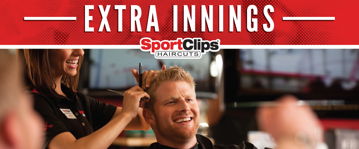 The Sport Clips Haircuts of Lehi Extra Innings Offerings